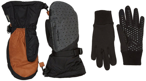 WOMENS DAKINE LEATHER SEQUOIA GLOVE