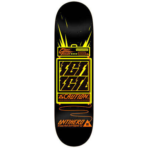 "ANTI HERO GRANT TAYLOR HIGH VOLTAGE 9.0"" SKATEBOARD DECK"