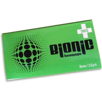 ATOM BIONIC SWISS 8mm BEARINGS - 16 PACK