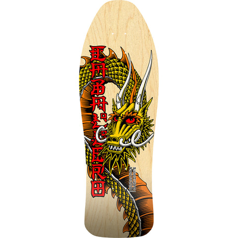 POWELL PERALTA BONES BRIGADE STEVE CABALLERO 11th SERIES NATURAL OLD SCHOOL SKATEBOARD DECK