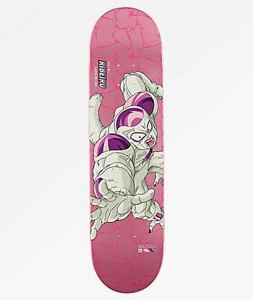 "DRAGON BALL Z x PRIMITIVE CARLOS RIBEIRO FRIEZA 8.0"" SKATEBOARD DECK"