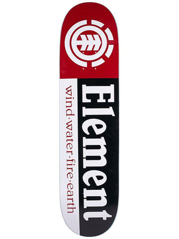 "ELEMENT SECTIONS 8.5"" SKATEBOARD DECK"