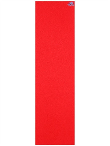 "FLIK RED COLORED GRIPTAPE SHEET 8.75"" X 32.5"""