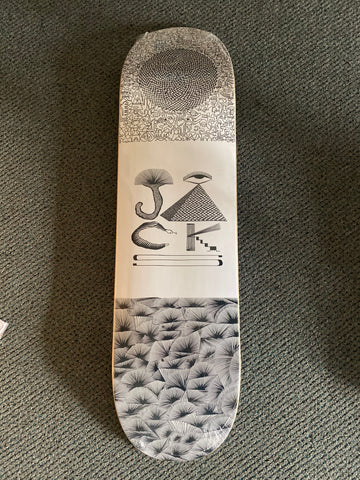 "JACKS BOARD HOUSE SHOP 8.5"" SKATEBOARD DECK"
