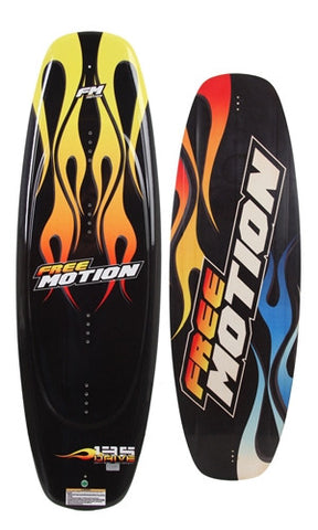 LIQUID FORCE FREE MOTION DRIVE WAKEBOARD 135cm