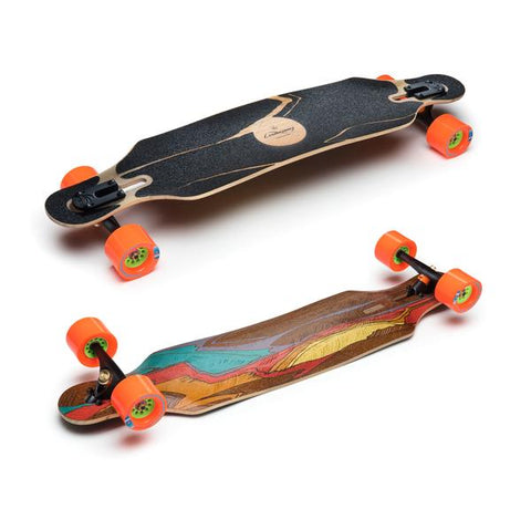 LOADED ICARUS FLEX 2 WITH KEGELS LONGBOARD SKATEBOARD COMPLETE