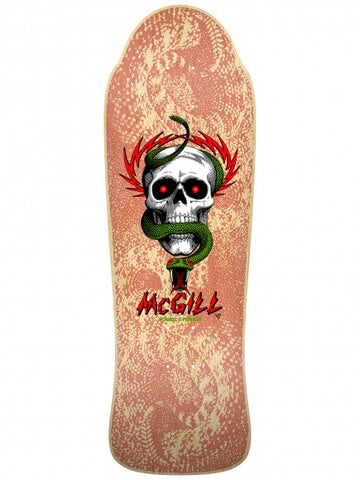 POWELL PERALTA BONES BRIGADE McGILL NATURAL 11th SERIES OLD SCHOOL SKATEBOARD DECK