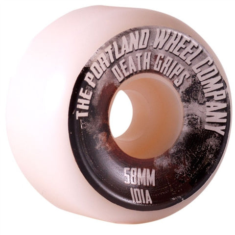 PORTLAND WHEEL COMPANY DEATH GRIPS 58mm SKATEBOARD WHEELS