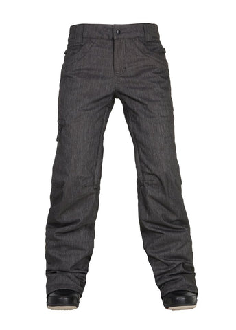 686 PATRON INSULATED PANT BLACK DENIM WOMENS SNOWBOARD PANT