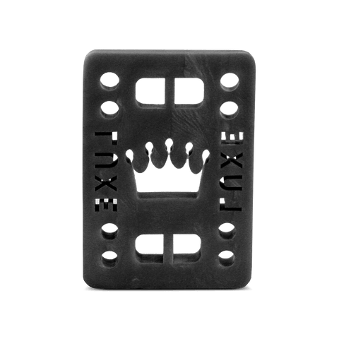"LUXE 1/2"" BLACK RISER PADS"