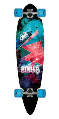 STELLA OUTER LIMITS BLUNT NOSE LONGBOARD SKATEBOARD COMPLETE