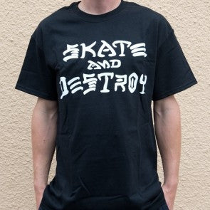THRASHER SKATE AND DESTROY T-SHIRT