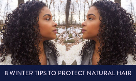 8 Winter Hair Tips To Protect Natural Hair