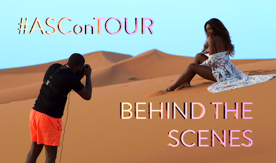 #ASConTour - Behind the Scenes