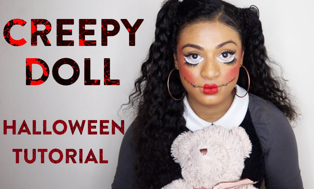 Creepy Doll Halloween Tutorial