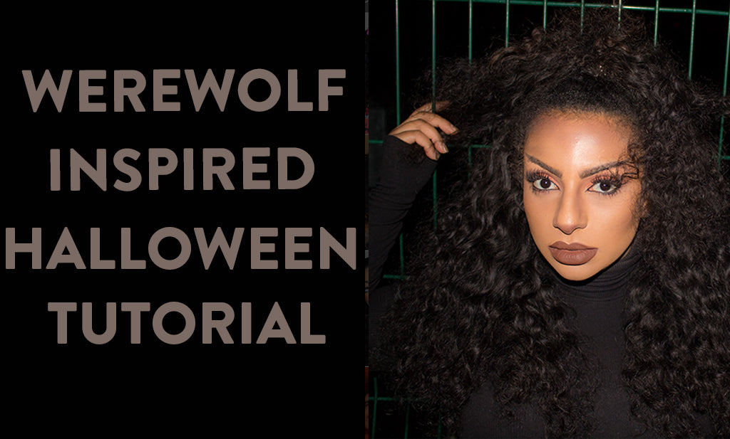 Werewolf Hair Halloween Tutorial