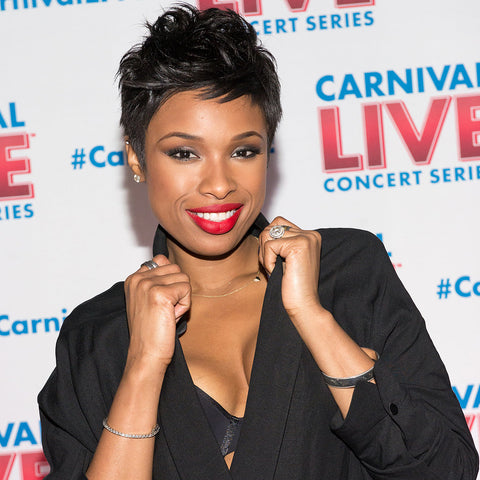 Jennifer Hudson Pixie Cut Hair Style
