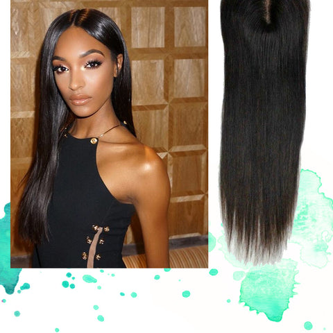 Jourdan Dunn All Shades Covered Straight Hair Extensions Weave