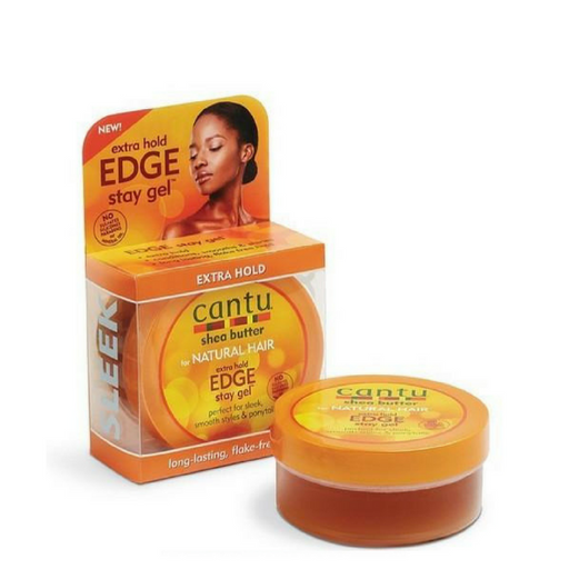 Cantu Shea Butter Extra Hold Edge Stay Gel (64g)