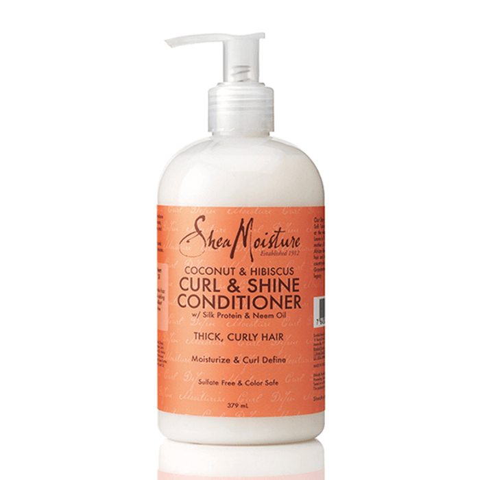 Shea Moisture Coconut & Hibiscus Curl & Shine Conditioner (379ml)