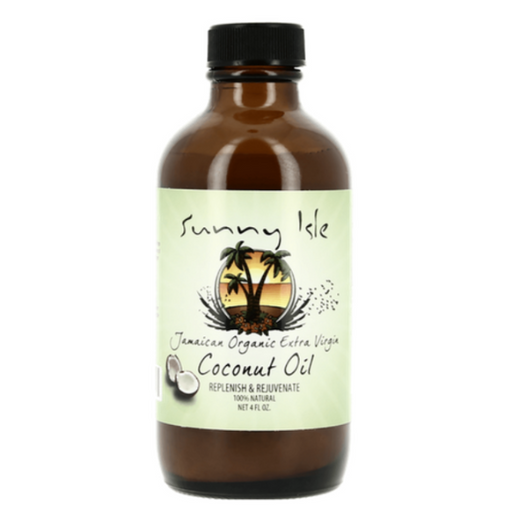 Sunny Isle Jamaican Organic Extra Virgin Coconut Oil (118ml)