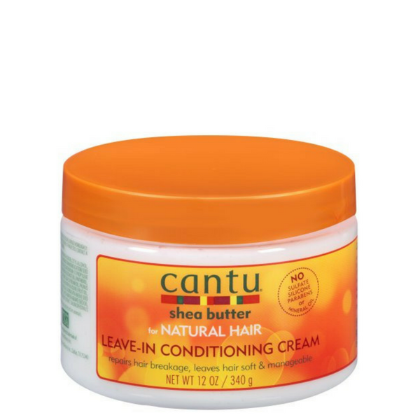 Cantu Shea Butter For Natural Hair Leave in Conditioning Cream (340g)