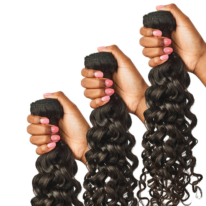 Curly Hair Bundle Sets