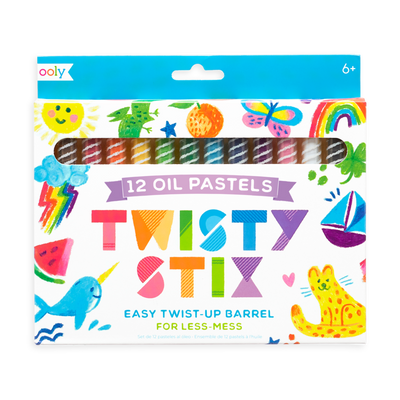 twisty stix oil pastels - Set of 12