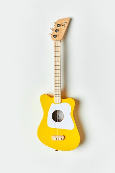 Mini Acoustic Guitar, Yellow - Loog
