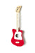 Mini Acoustic Guitar, Red - Loog