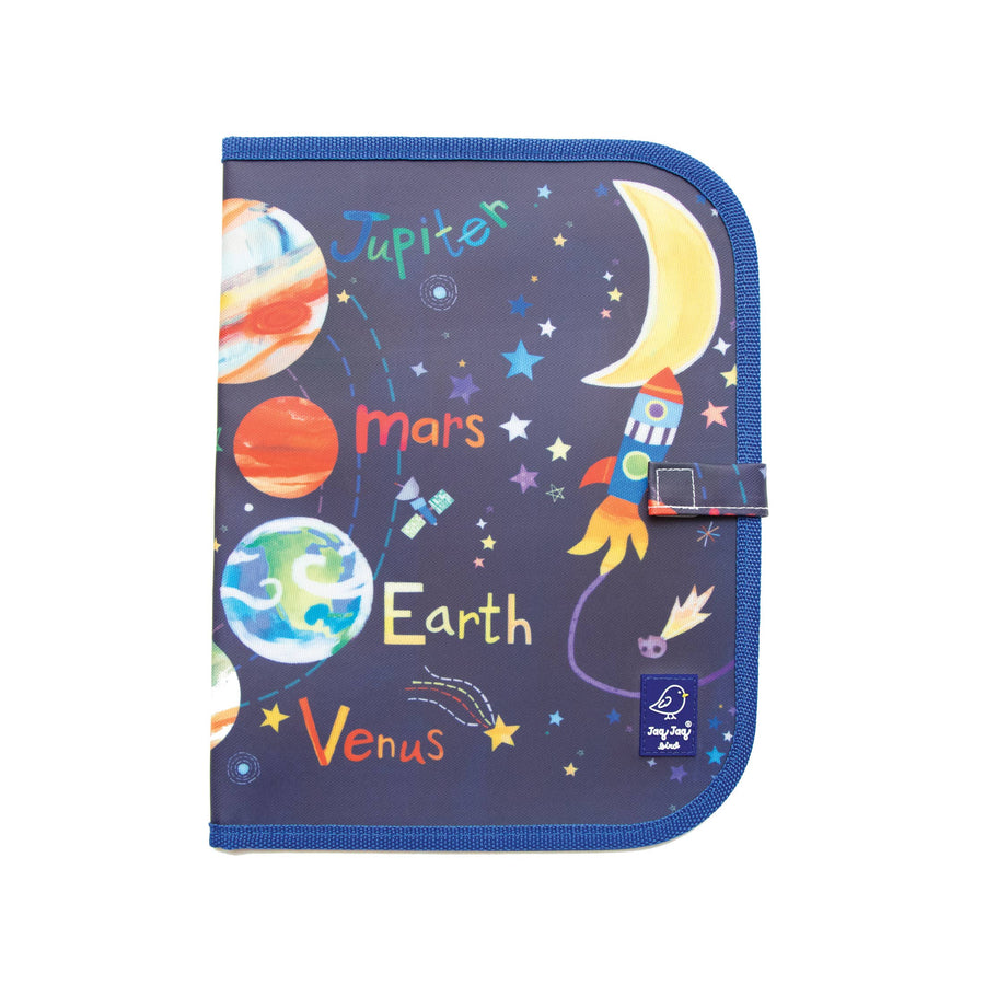 Doodle It & Go erasable mat - Hello, World! Solar System