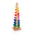 Mini Rainbow Cascading Marble Ball Tree - 14.5in