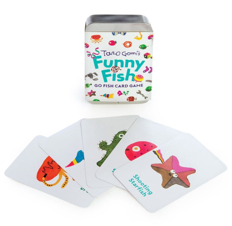 Taro Gomi Funny Fish: Go Fish Card Game