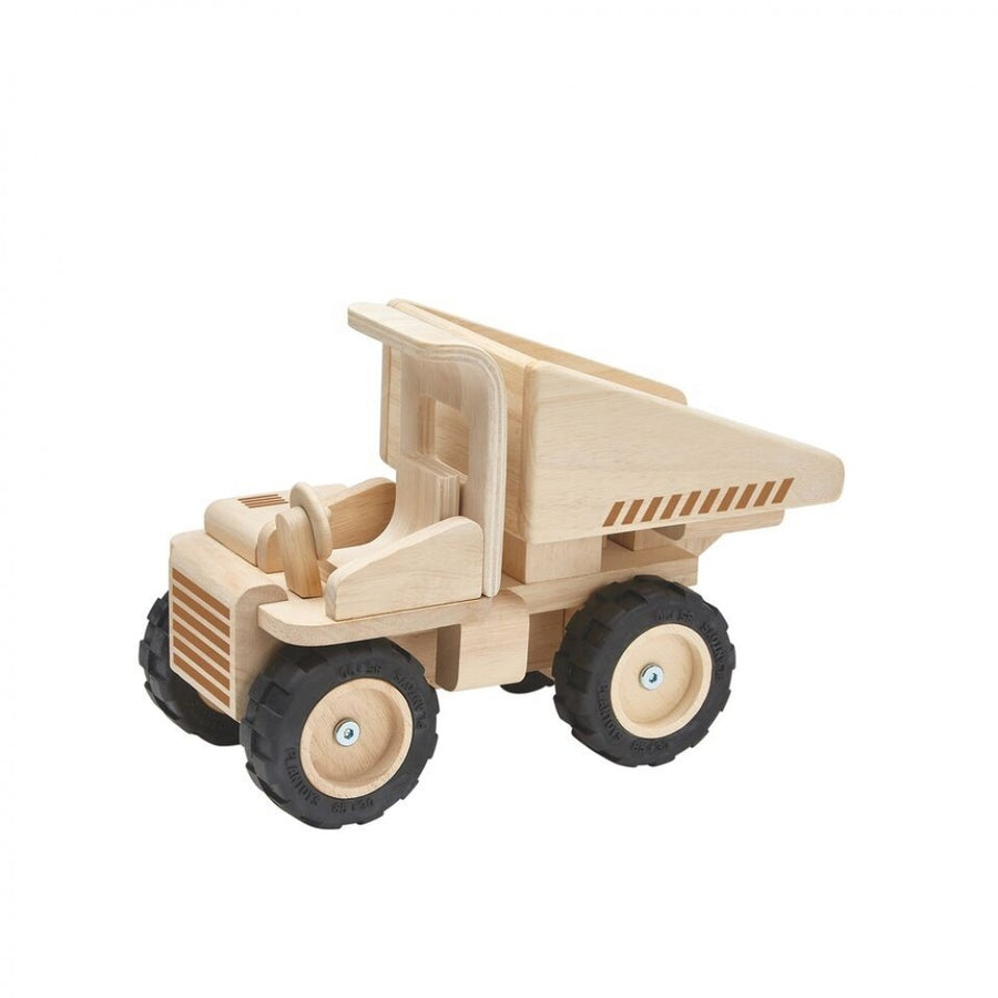 Plan Toys -Wooden Dump Truck - SHIPS IN 5-7 DAYS
