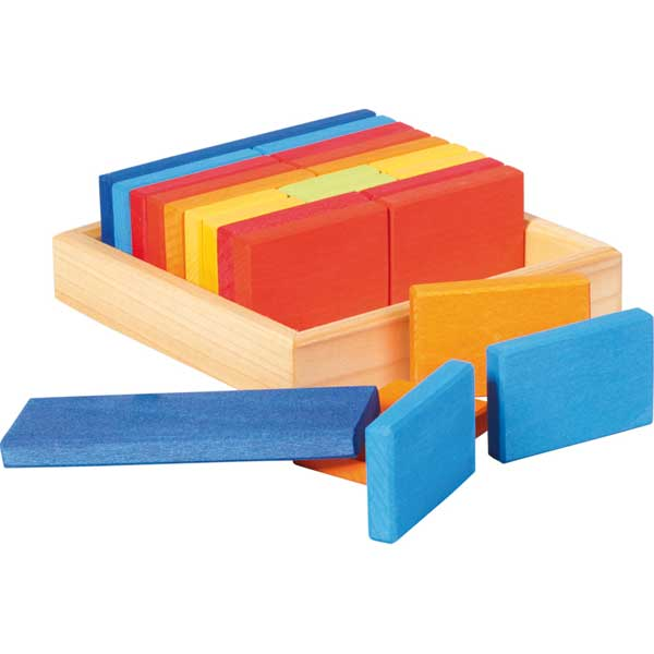 Gluckskafer - Quadrat Building Set Tiles