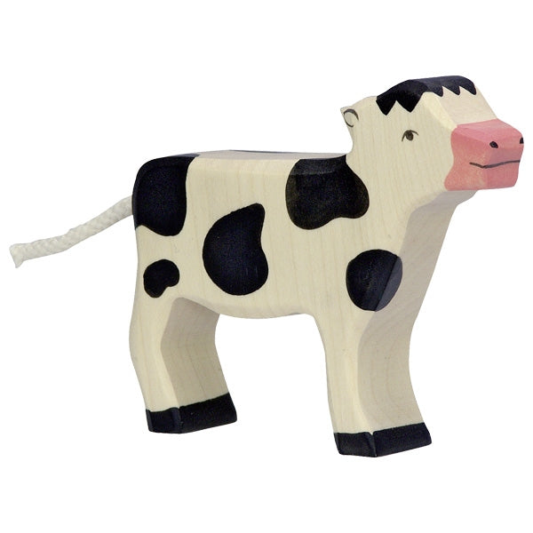 Holztiger - Wooden Animal - Calf, standing