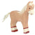 Holztiger - Wooden Animal - Foal, standing, Light Brown