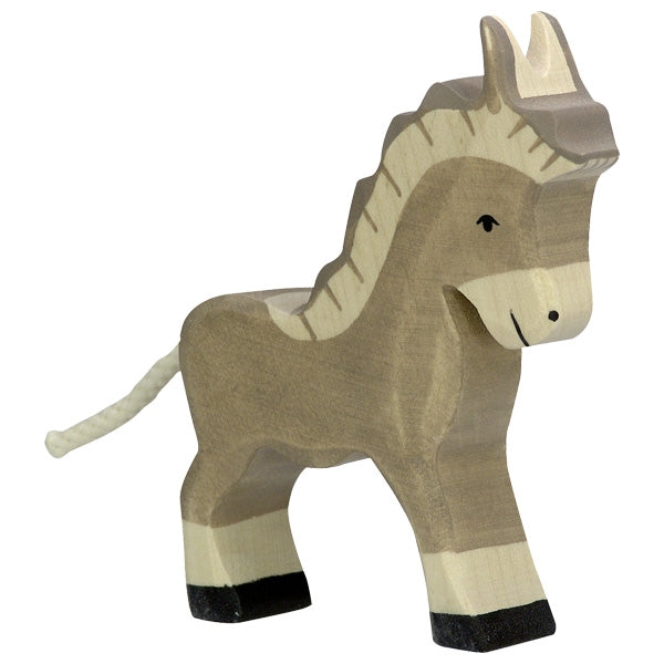 Holztiger - Wooden Animal - Donkey, small