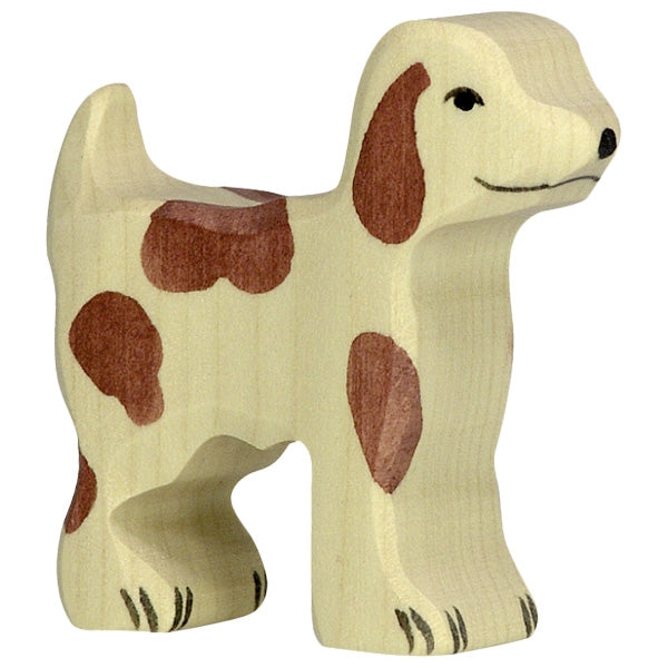 Holztiger - Wooden Animal - Farmdog, Small