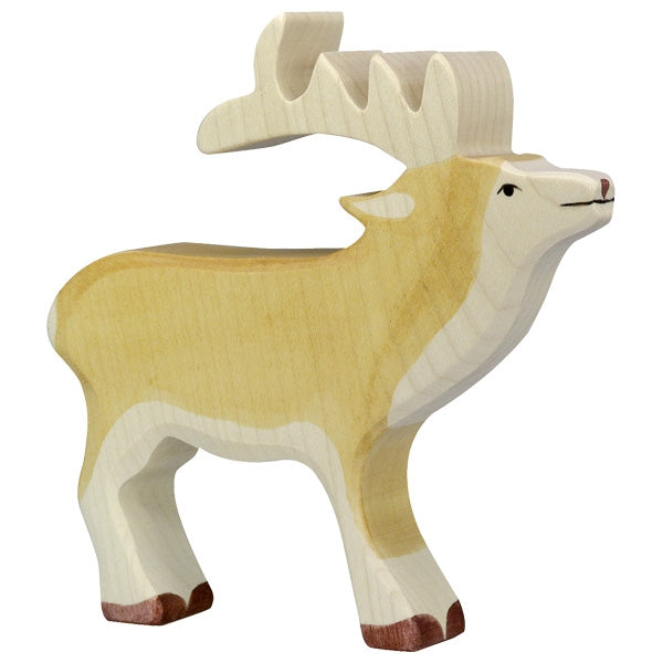 Holztiger - Wooden Animal - Stag