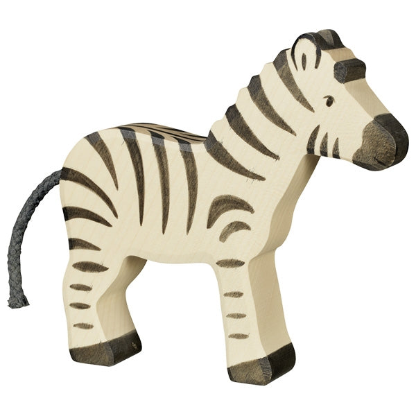 Holztiger - Wooden Animal - Zebra, new