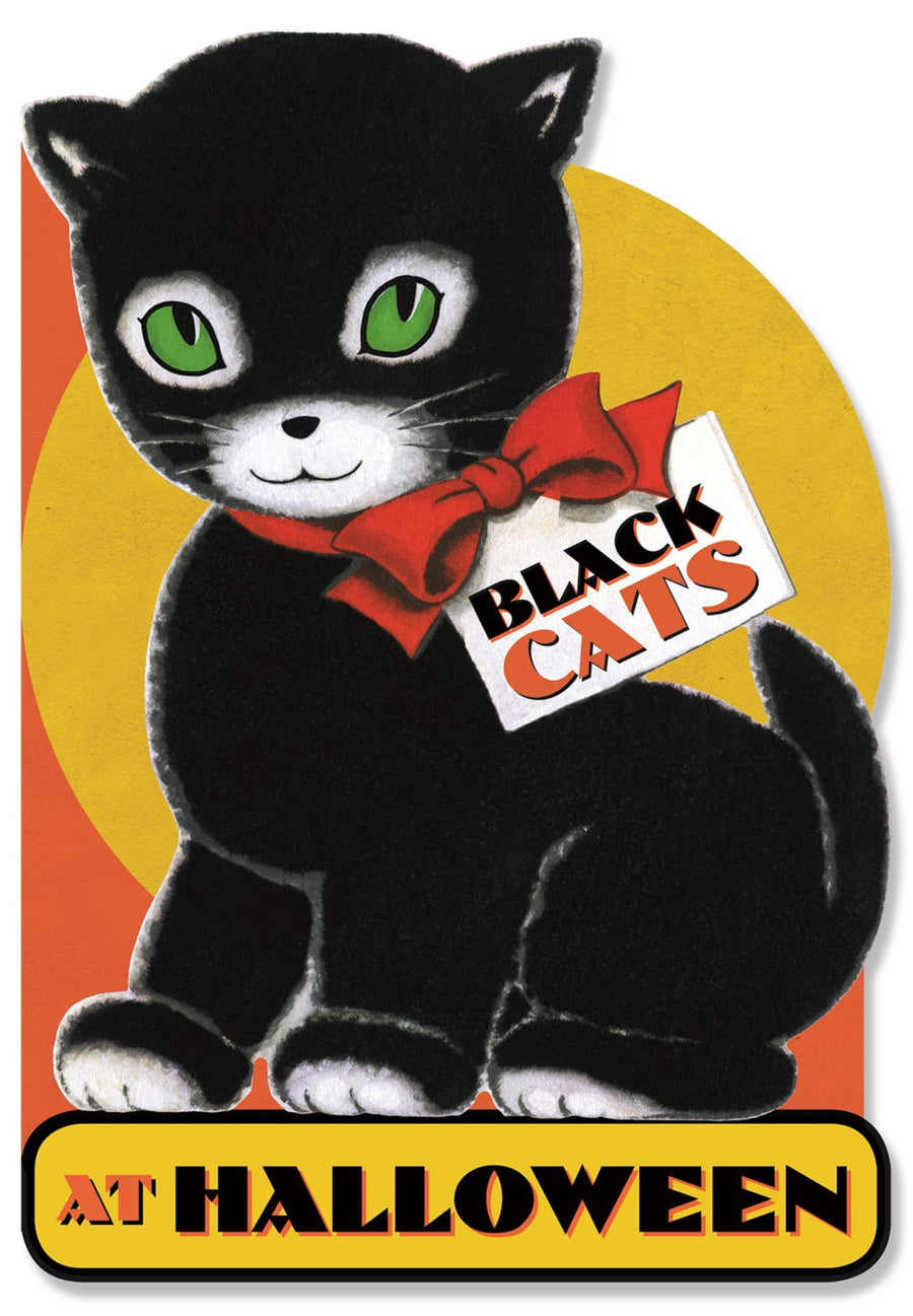 Black Cats at Halloween