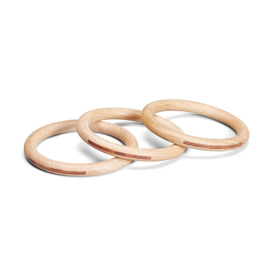 Grapat - Three Wooden Hoops Large