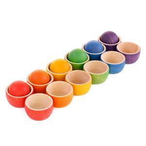 Grapat - Bowls & Balls Matching Game