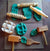 Wooden Play Dough Tools
