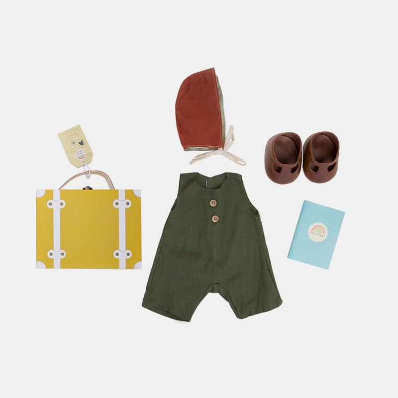 Dinkum Dolls - Travel Togs - Mustard