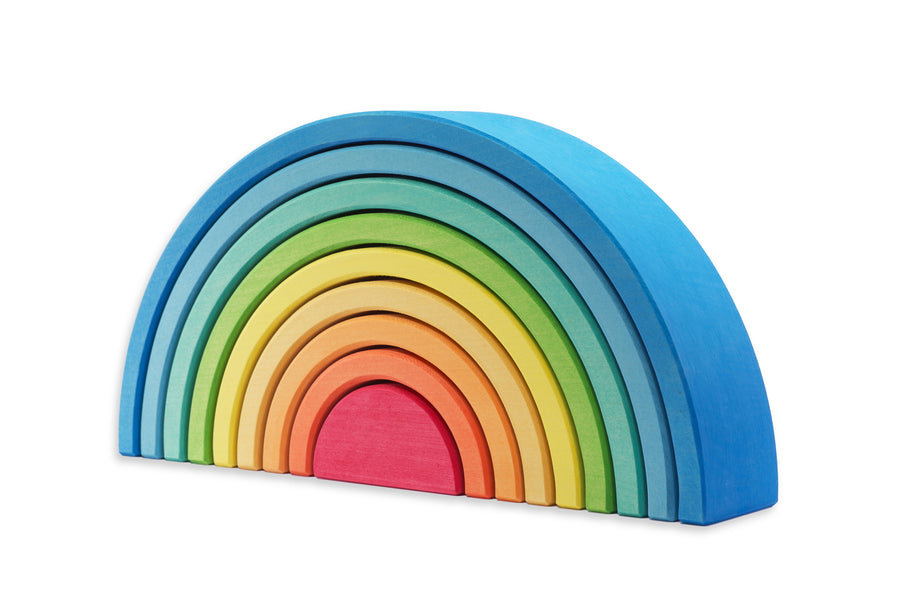 Ocamora - Blue 9 Piece Rainbow Stacker
