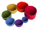 Rainbow Nested Bowl, 7 piece set