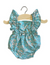 LOU Retro Romper, Capel Sea Green - Minikane
