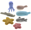 Papoose - Felt Sea Animals Set of 7
